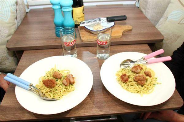 Cooking in a Caravan: Monica Rivron's Cheat's Meatballs