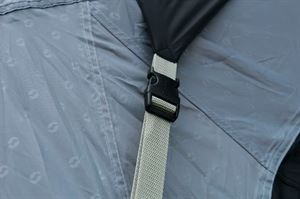 Close up of the Outwell Airville 6SA tent