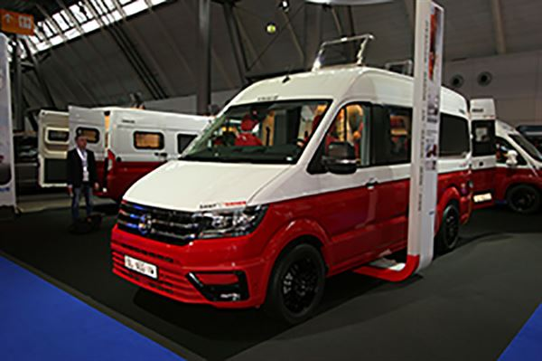 New Crafter Campervans Launched At Stuttgart Motorhome