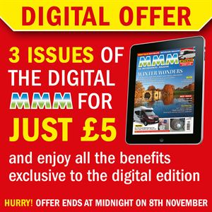 Try digital MMM with three issues for just £5!