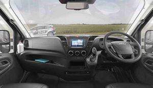 The driver's view - picture courtesy of the Swift Group