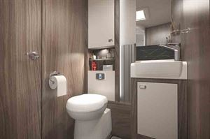 The plush-looking washroom - picture courtesy of the Swift Group