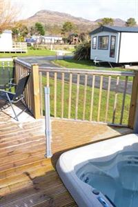 If you have a hot tub built into your decking, make sure it's covered by insurance