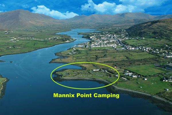 The coastal location of Mannix Point