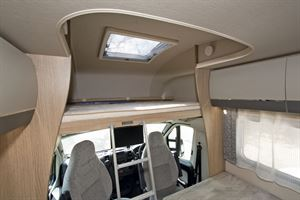 The high bed - hence the HB in the title of this Auto-Trail model
