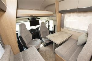 The lounge in the Auto-Trail Imala 730 HB motorhome