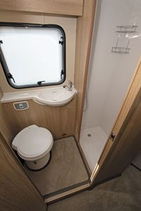 The washroom in the Auto-Trail Imala 730 motorhome