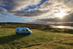 A campervan trip along the west coast of Ireland - photo courtesy of Felicity Martin