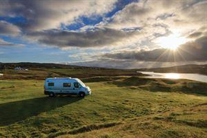 A campervan trip along the west coast of Ireland - photo courtesy of Felicity Martin