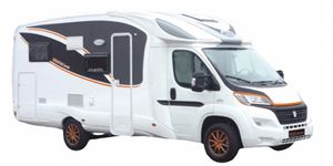 The new Iridium electric motorhome