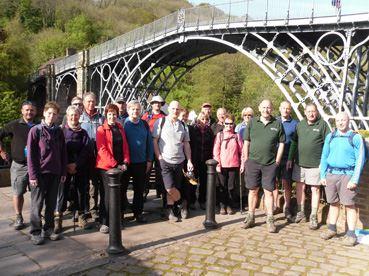 12th Ironbridge Gorge Walking Festival starts on 29 April