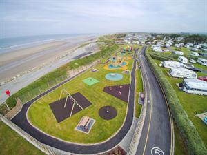 Islawrffordd Caravan Park's new seaside play area