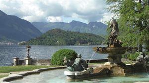 A fountain at Lake Como