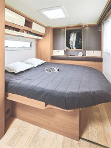 Iteneo RC740 motorhome with Island Bed Layout