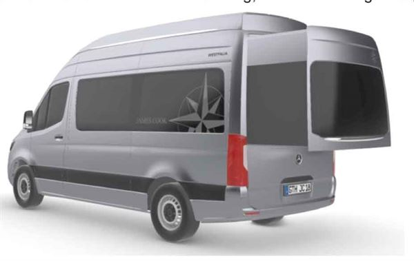 The new James Cook campervan from Westfalia will be launched next year