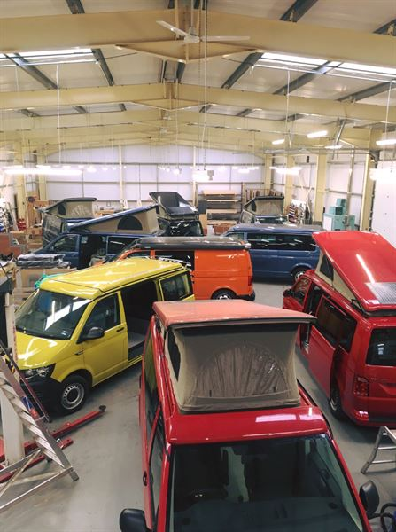 Volkswagen campervan converter, Jerba Campervans