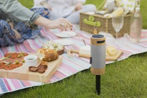 Win a KitSound Diggit outdoor speaker and picnic basket!
