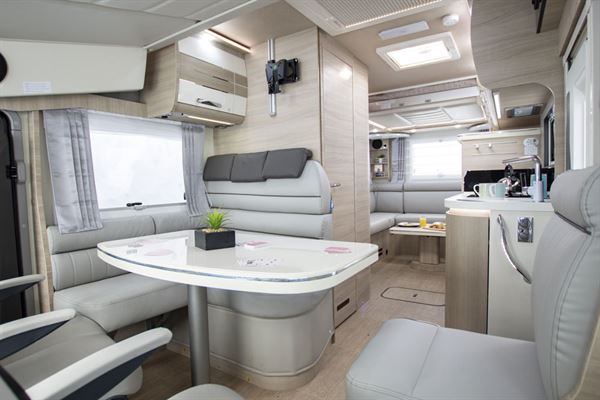 A view of the Mobilvetta K-Yacht 80 interior