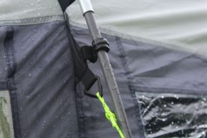 Close up of the Kampa Dometic Hayling 4 tent