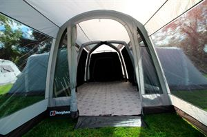 The porch in the Berghaus Kepler 9 tent