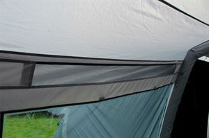 The vent in the Berghaus Kepler 9 tent