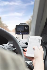 This week, we're giving away a KitSound Car DAB+ in-car radio adaptor with Bluetooth, worth £49.99!