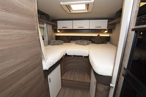Beds in the Knaus Live I 700 MEG motorhome