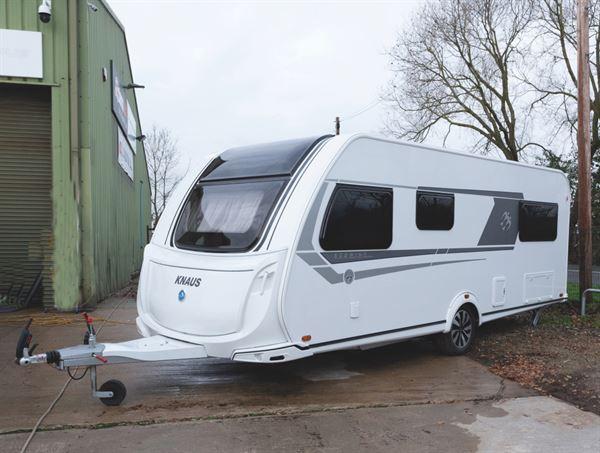 Knaus Northstar 590 caravan