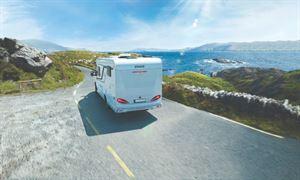 Knaus Van TI-650 Motorhome with Single Bed Layout