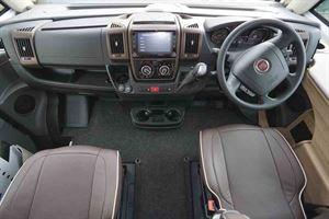 The cab - picture courtesy of Southdowns Motorcaravans