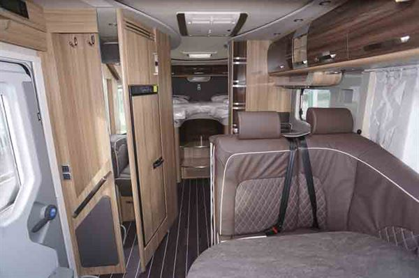 A view of the smart interior - picture courtesy of Southdowns Motorcaravans