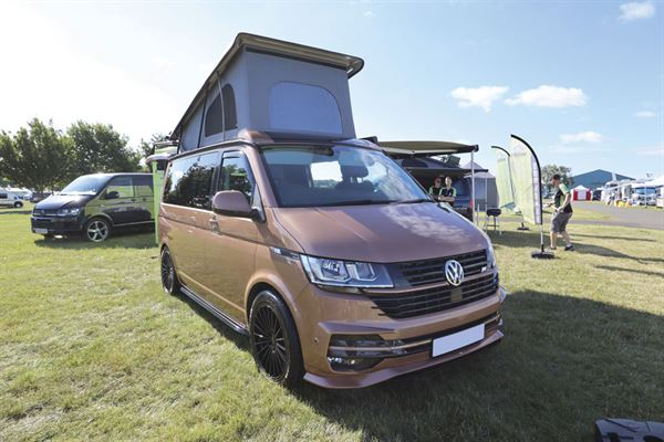 Knights Custom Prestige Tourer campervan