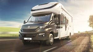 The Swift Kon-tiki Dynamic is on show at the NEC