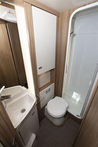 The toilet in the Swift Kon-tiki Sport 560 motorhome