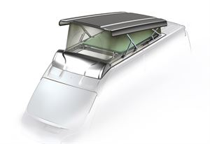 LCI launches Vela, a new rising roof for Fiat Ducato campervans