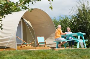 Try a spot of glamping