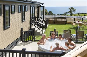 Luxury accommodation with hot tubs