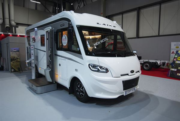The Laika Ecovip 609 motorhome