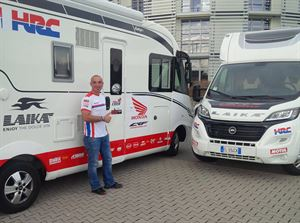 Honda Racing in a Laika and heading for the Dakar rally