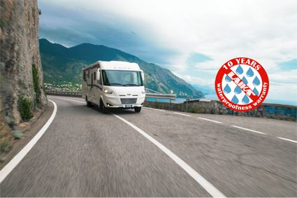 Laika provides 10-year water ingress warranty on 2020 season motorhomes
