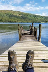 The Lake District - resting at Sunny Bank
