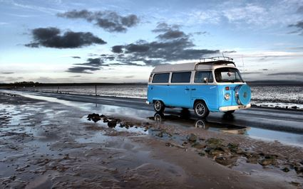 new research shows significant proportion of Brits would like to quit the rat rave and head off into the sunset in a campervan