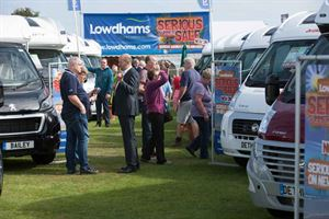 Grab a bargain at the Lincoln Motorhome Show
