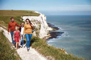 Enjoying family time atSt Margaret's Bay in Kent (pic courtesy Matt Keal Photography)