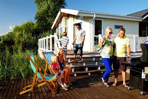 Lodges taking over in popularity from caravans at Park Holidays UK