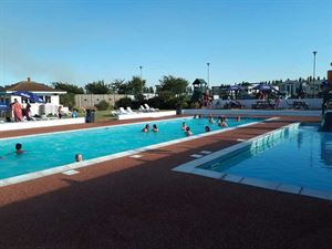 The largest outdoor pool on the island
