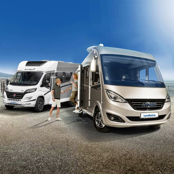 Motorhome dealer Lowdhams is now offering a rental service