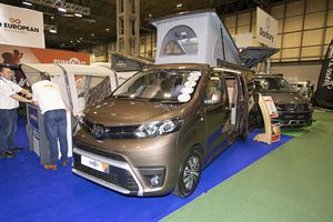Motorhome dealer Lowdhams expands Summit campervan range