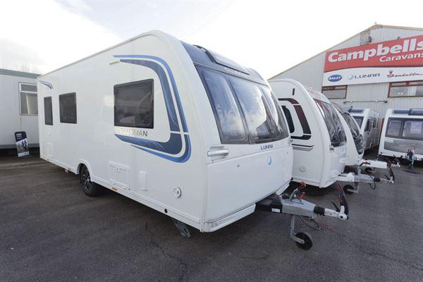Lunar Clubman ES caravan