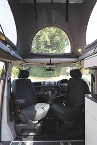 The cab has swivel seats © Warners Group Publications, 2019